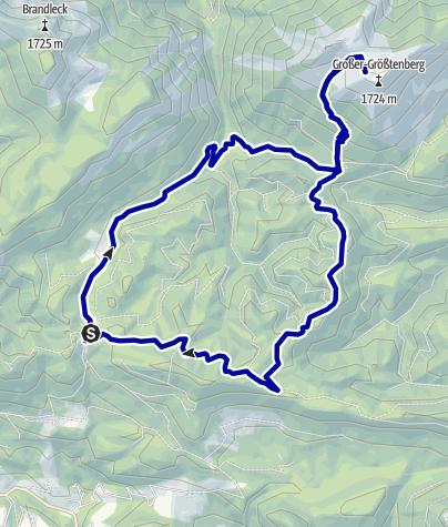 Karte / Großer Größtenberg