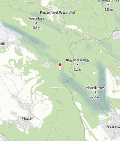 Térkép / Legény-barlang