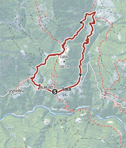 Karte / Auf den Spuren des Herrn Geiser