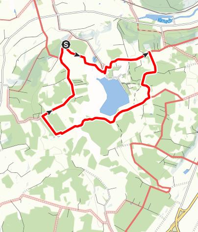 Karte / Moorerlebnis Elbsee: Rundweg