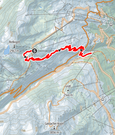 Karte / OLLWEITE LINE (6010)