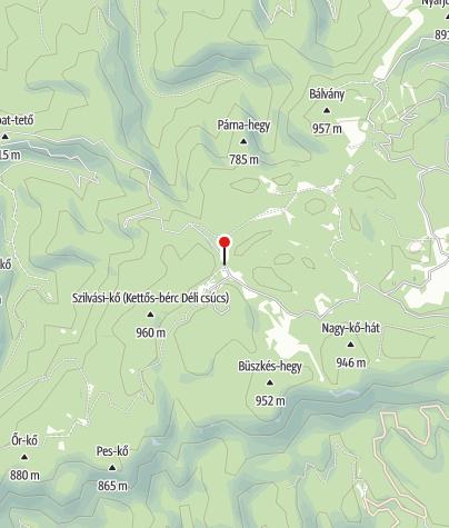 Térkép / Olasz-kapu és Fekete-sár