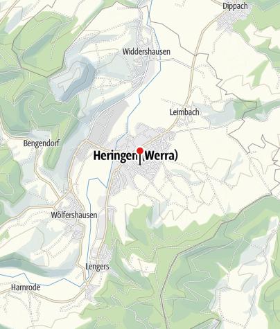 Karte / Heringen (Werra)