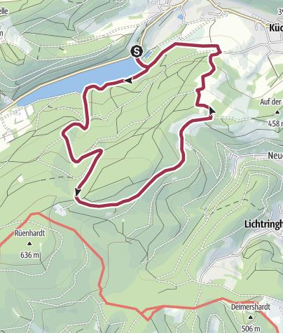 Karte / Plettenberg: Um Plettenbergs größtem Schwimmbecken – die Oestertalsperre