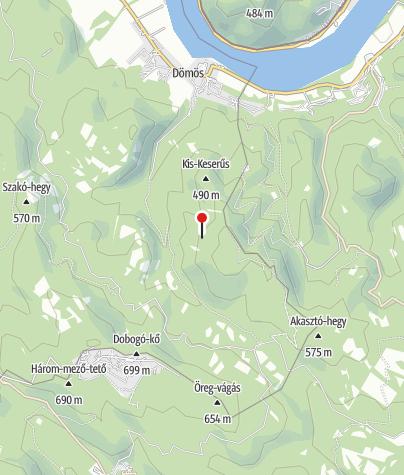 Térkép / Vadálló-kövek