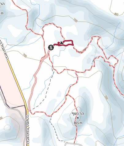 מפה / הקניון האדום