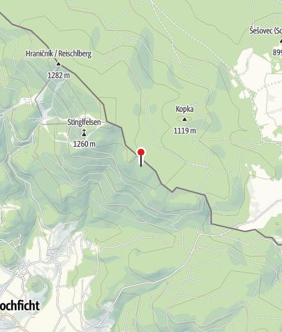 Karte / Jagdhütte 1180m