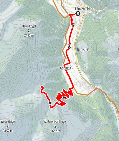 Karte / Biketour Polltal - Breitlehnalm (637)