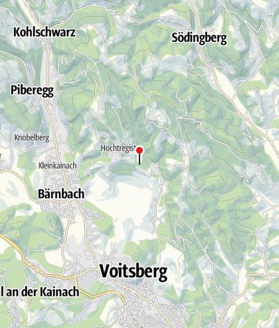 Karte / Rastplatz: eh. Bergbaugebiet Oberdorf
