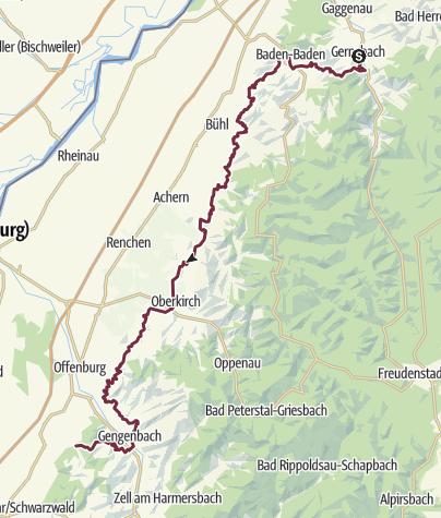 Map / Ortenauer Weinpfad