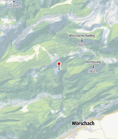Karte / Bärenfeichten 1475m