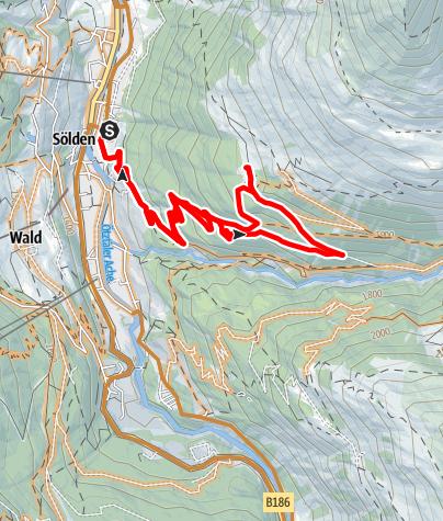 Map / Enduro Stallwies Alm - A