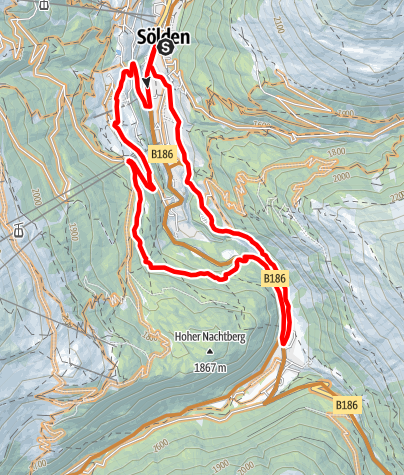 Map / Enduro Zwieselstein - E