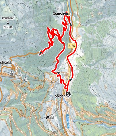 Karte / Enduro Gortach - G