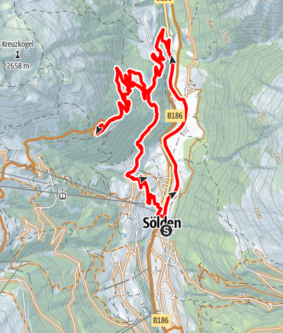 Map / Enduro Gortach - G