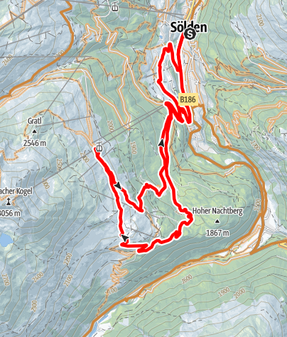 Map / Enduro Goldegg - K