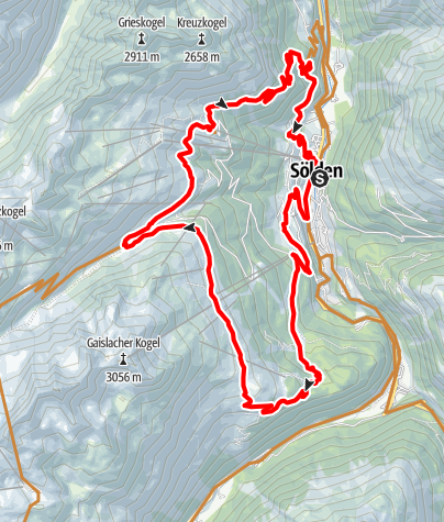Map / Enduro Schölder Tour - M