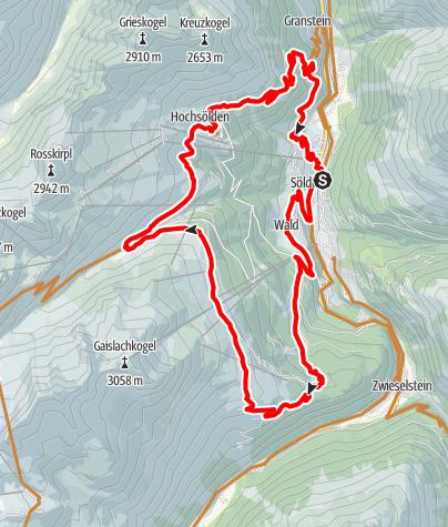 Karte / Enduro Schölder Tour - M