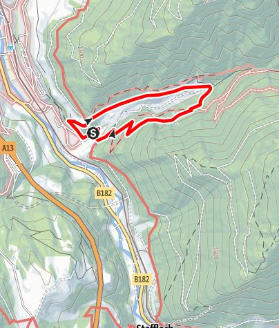 Karte / Panoramaweg Padastertal