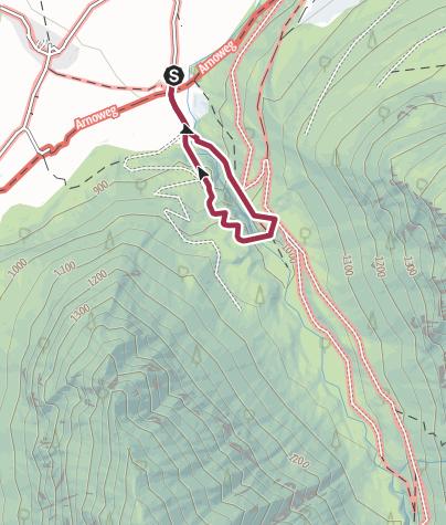 Karte / Untersulzbach Wasserfall Rundweg