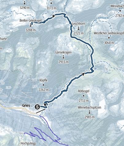 Map / Wide Grieskogel