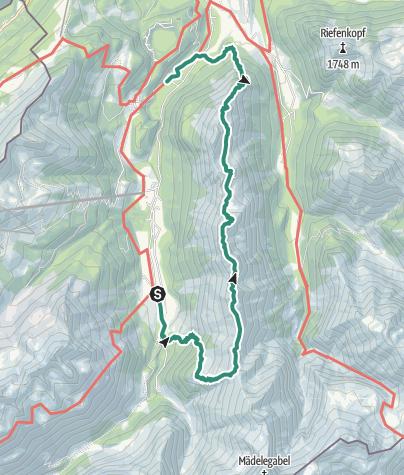 Map / Across the Himmelschrofen