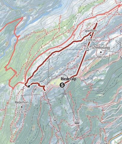Karte / Erlebnispfad - Gratweg