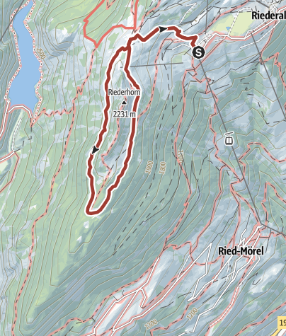 Karte / Auf dem Casselweg