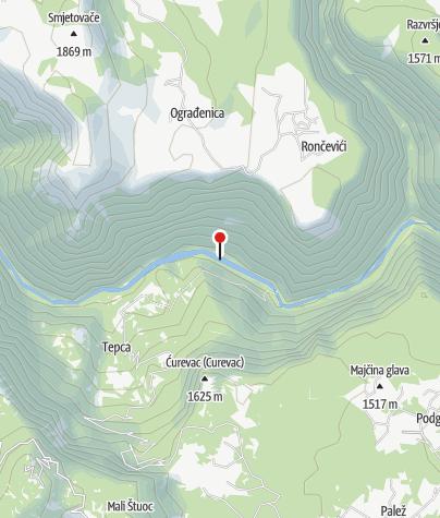 Map / Raft the Tara River in Montenegro