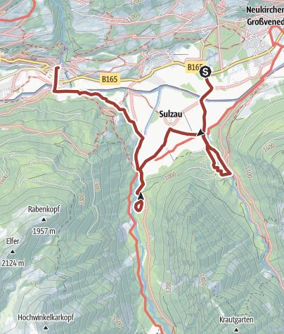Karte / Natura Trail Blausee