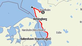 Map / Skåneleden – Öresundsleden – Gesamtroute