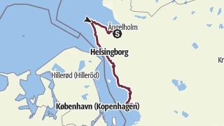 Karte / Skåneleden – Öresundsleden – Gesamtroute