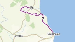 Karte / Sydostleden: Brösarp bis Simrishamn