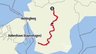 Map / Skåneleden – Nord till sydleden – Gesamttour