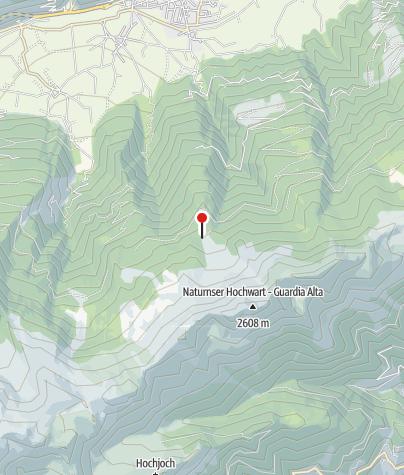 Karte / Frantschalm (Mauslochalm)