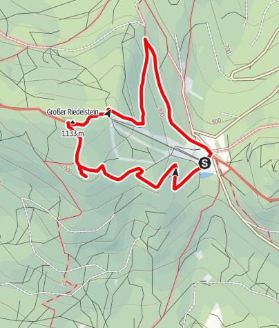 Karte / Riedelstein von Eck