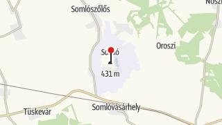 Térkép / Szent István-kilátó (Somló hegy)