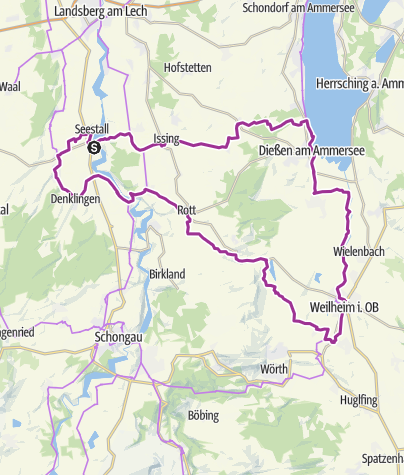 Karte / Lechhanslradweg