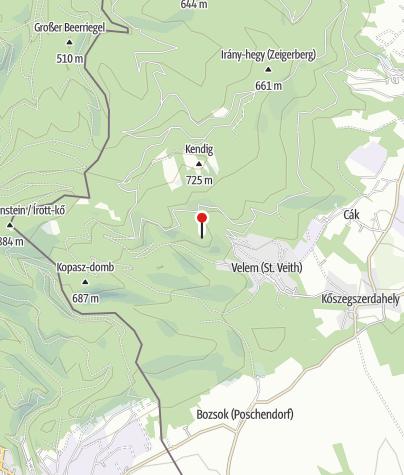 Térkép / Szent Vid kápolna