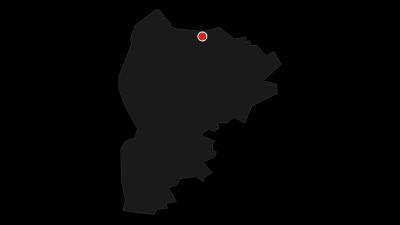 Karte /  De Moorpadd - Radrundweg entlang des Ahlenmoors