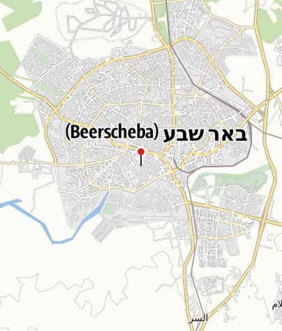 Mapa / Die Altstadt von Be'er Sheva