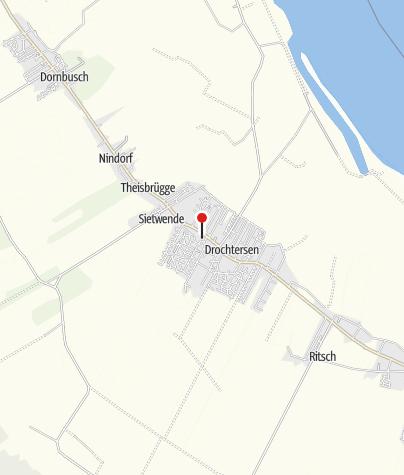 Karte / Gemeinde Drochtersen: Altes Land am Elbstrom