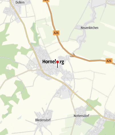 Karte / Samtgemeinde Horneburg: Altes Land am Elbstrom