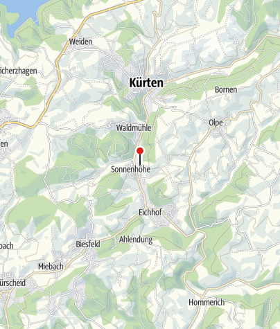 Map / It´s Great Out There – Bergische 50   Die Erlebniswanderung