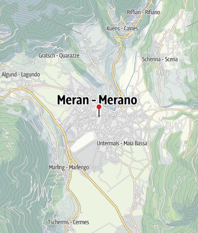 Cartina / Terme Merano