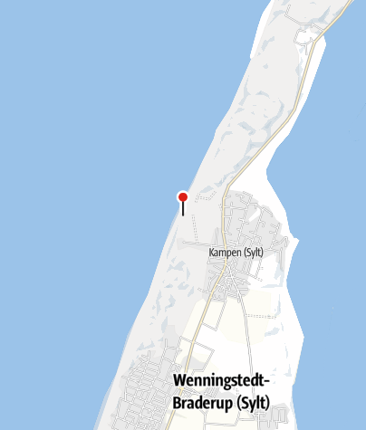 Karte Von Sylt.Rotes Kliff Küste Outdooractive Com
