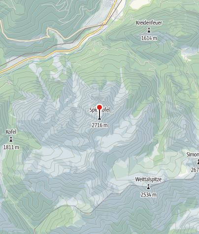 Karte / Spitzkofel