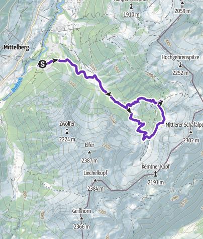 Map / Wildental Trail Round