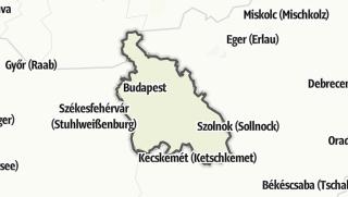 Mapa / Közép-Magyarország
