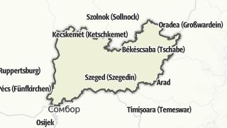 Mapa / Dél-Alföld